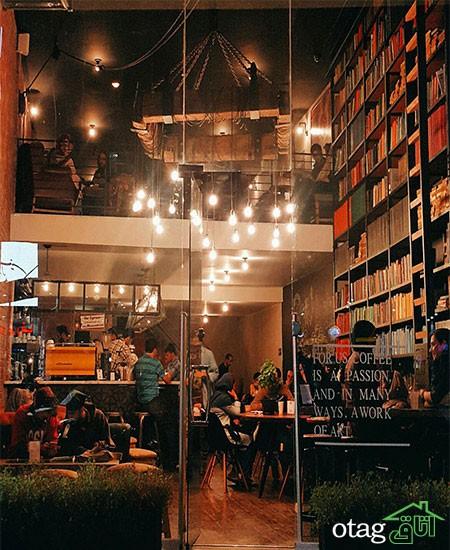 ایدههای مدرن دکوراسیون و طراحی کافه + تصاویر کافه های تهران
