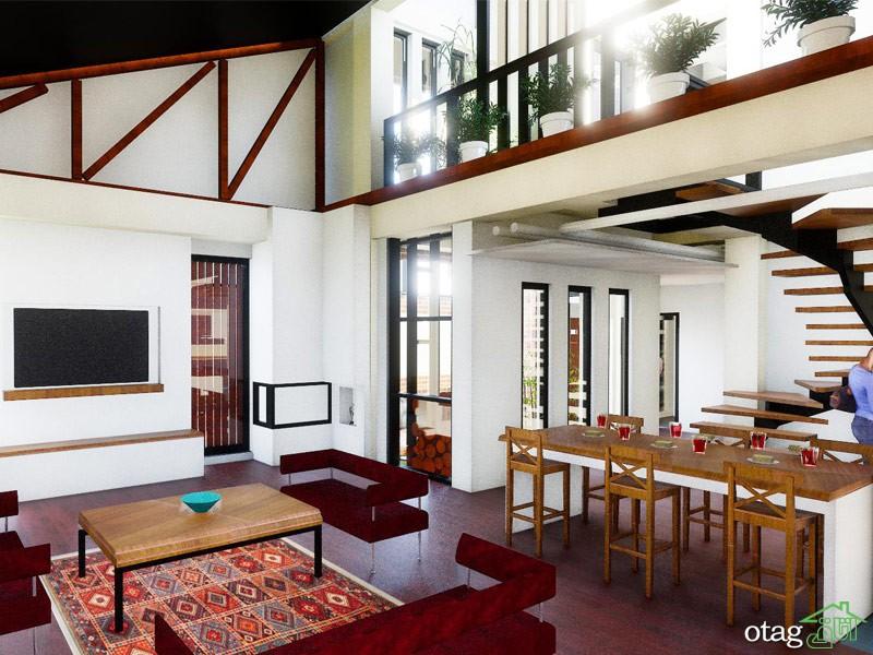 8 ترند معماری داخلی ویلا [مدرن و بی نظیر] در سال جدید