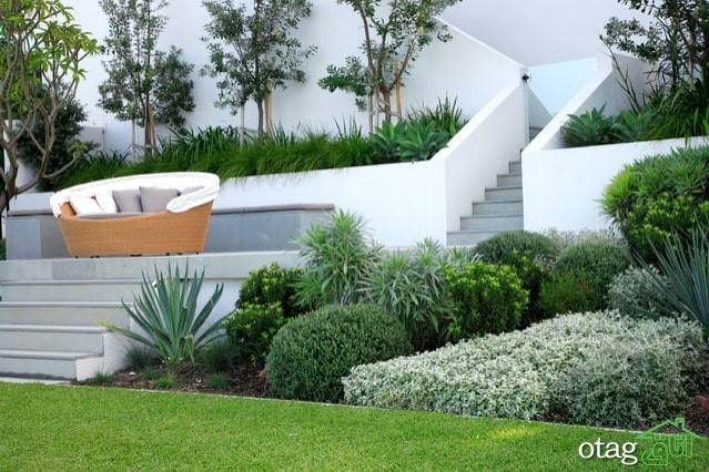 6 ایده برتر طراحی باغ ویلا [ با حداقل نیاز به مراقبت و نگهداری ]