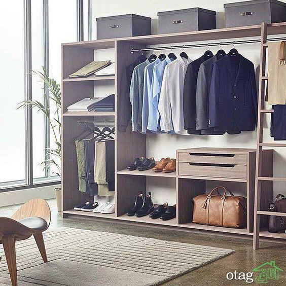 7 ایده برتر طراحی اتاق لباس [ یک رویا یا یک نیاز؟ ]