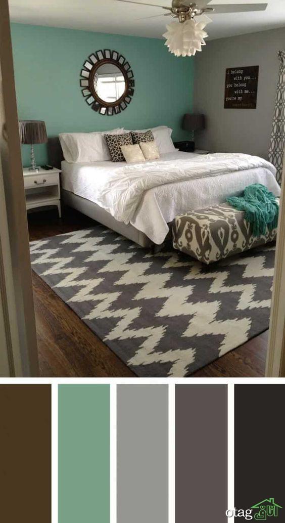با 9 مورد از بهترین رنگها برای اتاق خواب آشنا شوید