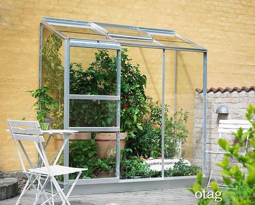 7 ایده به روز طراحی گلخانه خانگی همراه با 20 نمونه گلخانه شیک
