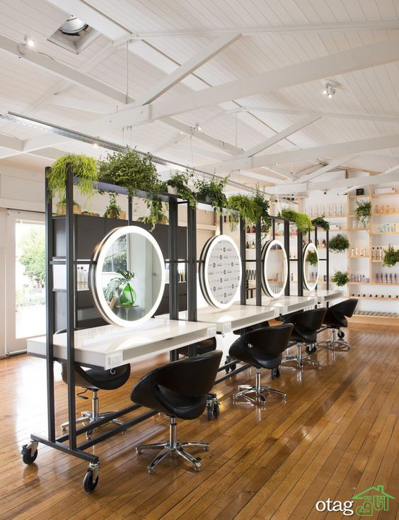 دکوراسیون سالن زیبایی خود را اینگونه چیدمان کنید