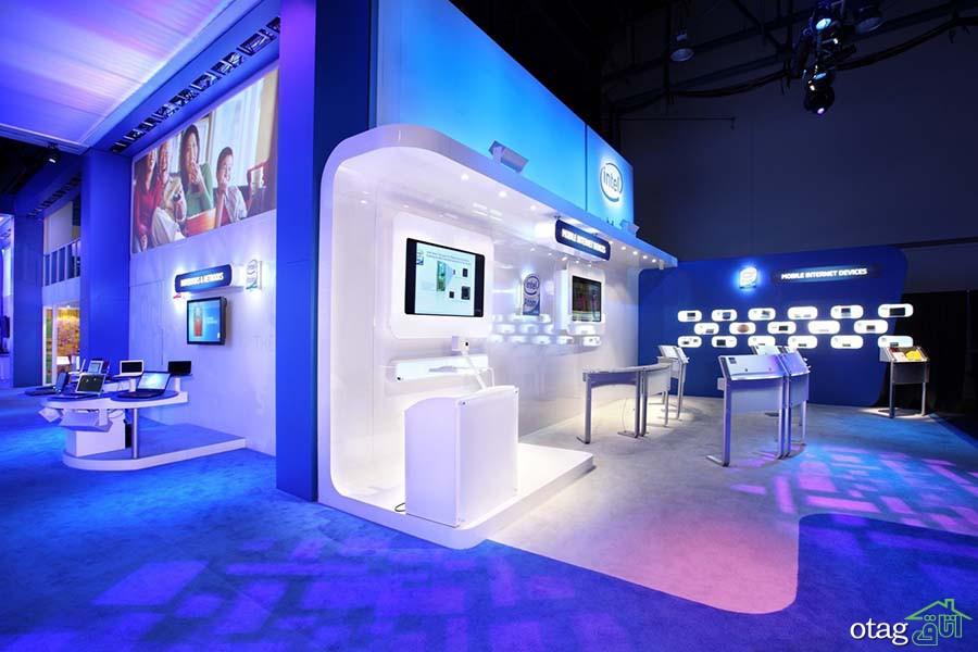 7 راهکار برای طراحی غرفه نمایشگاهی