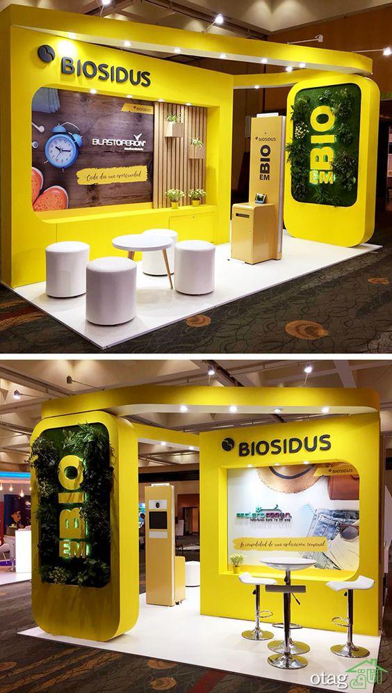 ۷ راهکار برای طراحی غرفه نمایشگاهی