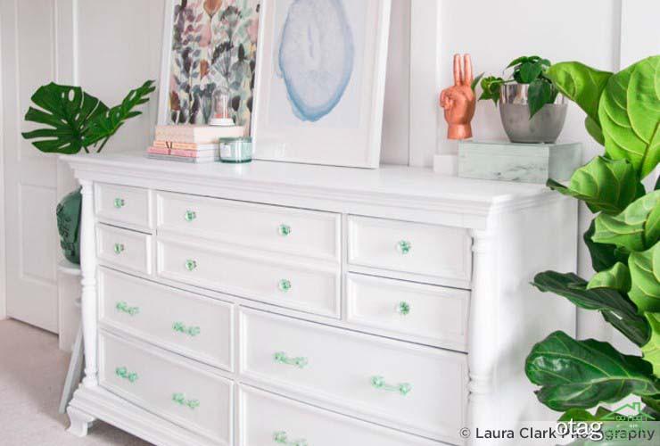 از چه رنگ هایی می توان بعنوان رنگ مکمل سبز در دکوراسیون استفاده کرد؟