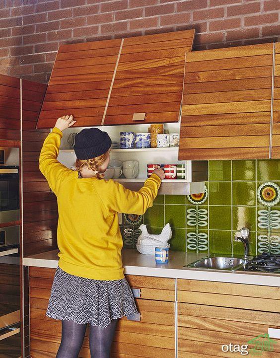 4 [ اصل مهم ] استفاده از کاشی بین کابینتی در خانههای مدرن