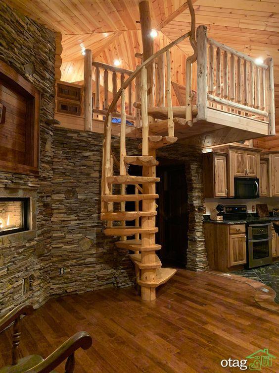 7 ایده برتر طراحی پله گرد دوبلکس برای [ خانههای کوچک ]