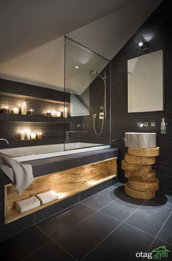 برترین ترندهای طراحی حمام [ 7 ایده ساده و کاربردی ]