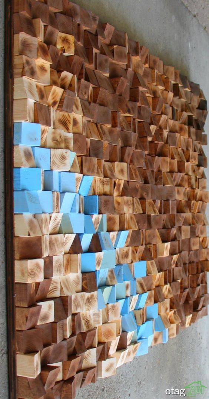 14 نمونه دیدنی اوریگامی در دکوراسیون