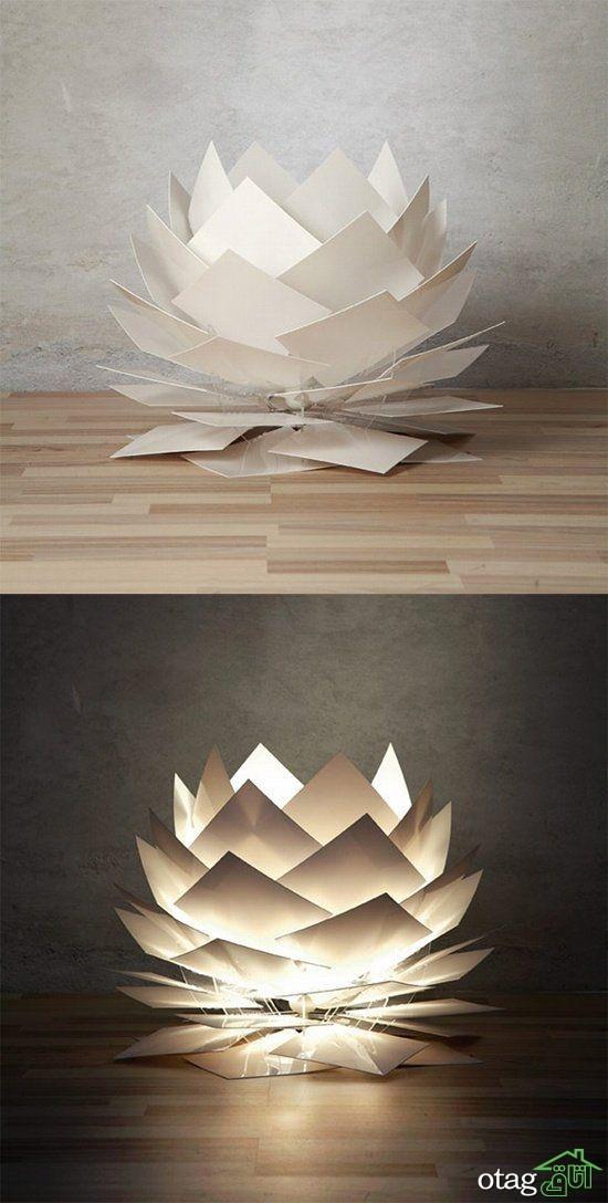 ۱۴ نمونه دیدنی اوریگامی در دکوراسیون