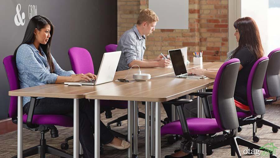 چند راه حل ساده برای جذاب تر کردن  طراحی دفتر کار [ 9 طرح جدید]
