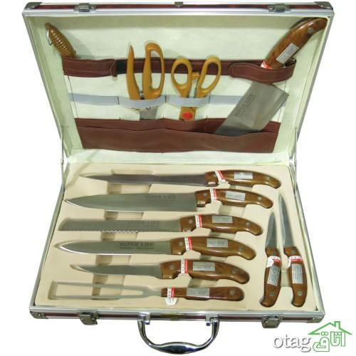 خرید 41 مدل ست چاقوی آشپزخانه مدرن [ حرفه ای ] ارزان قیمت