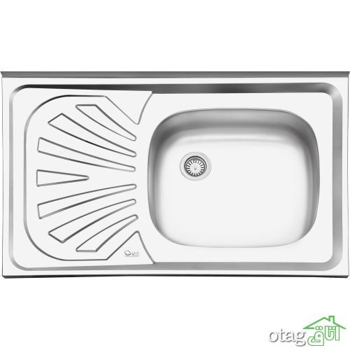 24 مدل سینک ظرفشویی آشپزخانه فلزی و سرامیکی جدید [منحصر بفرد] سال 1398