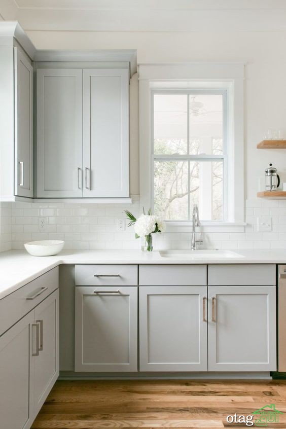 [6 نمونه] چیدمان کابینت آشپزخانه کوچک