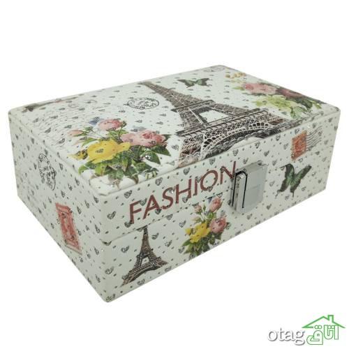 خرید 40 مدل جعبه جواهرات شیک [ طرح های خاص و جالب ] با تخفیف