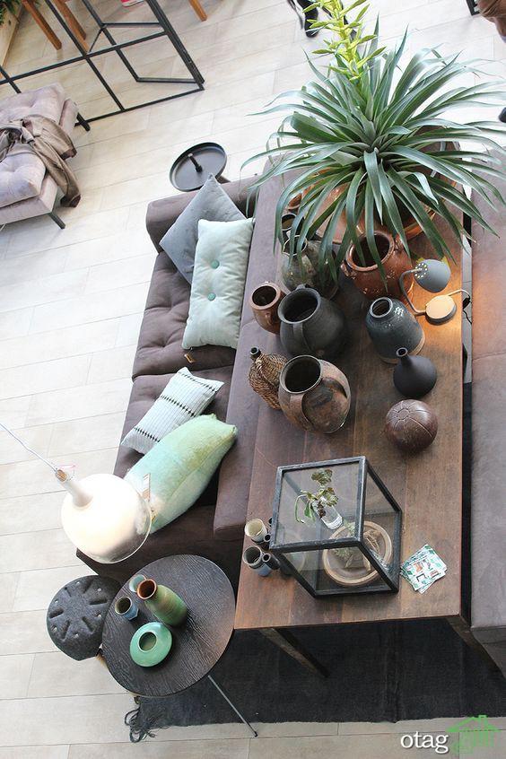 طراحی داخلی با استفاده از هنر و صنایع دستی در دکوراسیون [13 مدل دیدنی]