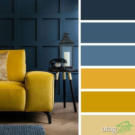 تاثیر ست کردن رنگ ها در دکوراسیون داخلی منزل [ مدلهای 2020]