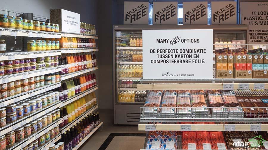 بهترین دکوراسیون و طراحی سوپر مارکت