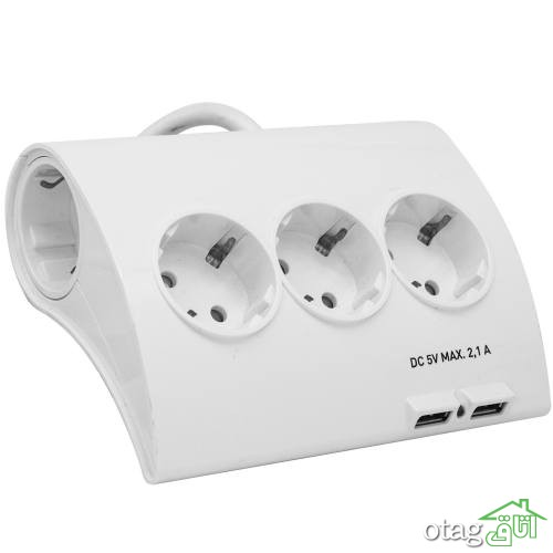 خرید 39 مدل محافظ برق هوشمند  [چند راهی برق حرفه ای ] با تخفیف