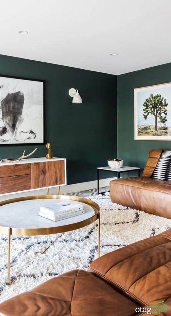 راهنمای انتخاب رنگ قهوه ای در منزل