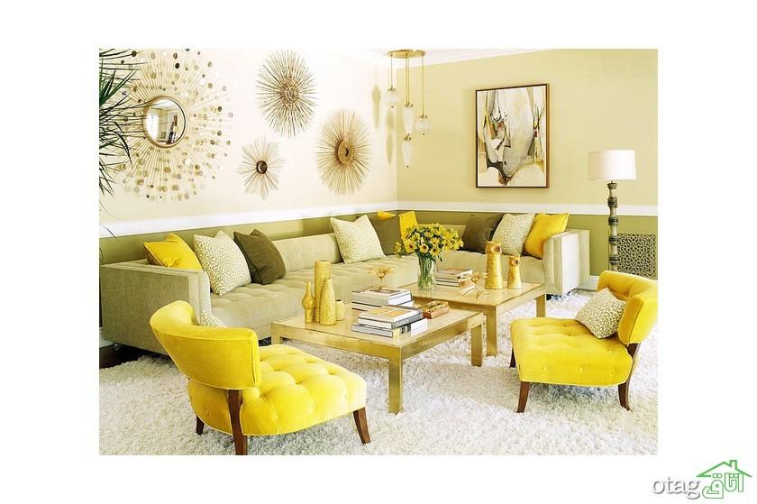 7 سبک استفاده از رنگ سبز زیتونی در دکوراسیون داخلی