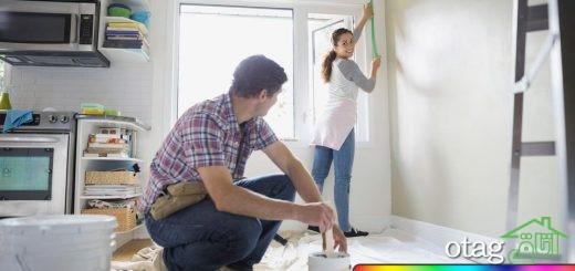با 8 اصل رنگ آمیزی ساختمان آشنا شوید