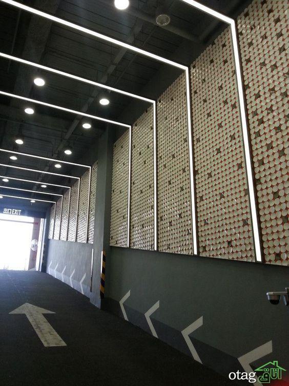 [4 راه کار ] برای طراحی سقف پارکینگ