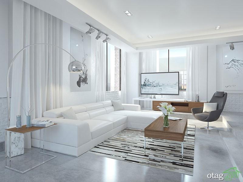 نکات بهترین چیدمان و طراحی دکوراسیون منزل داخلی  + نمونه