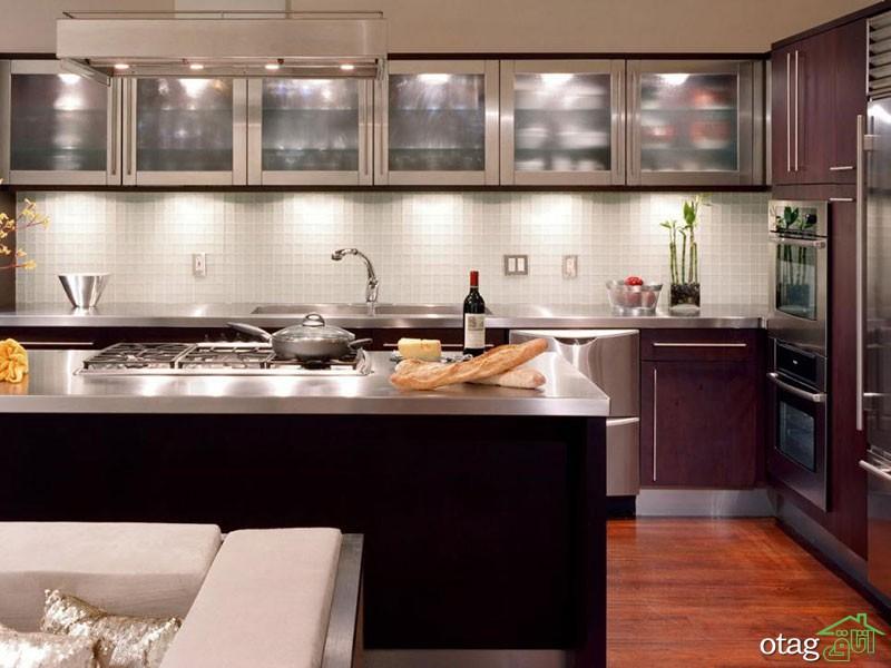 بهترین طراحی و دیزاین دکوراسیون آشپزخانه مدرن + مدل و عکس