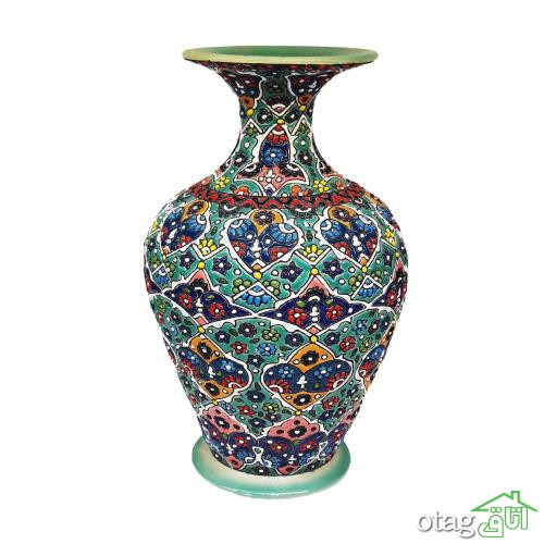 39  مدل بهترین گلدان میناکاری برای تزیین منزل + لینک خرید