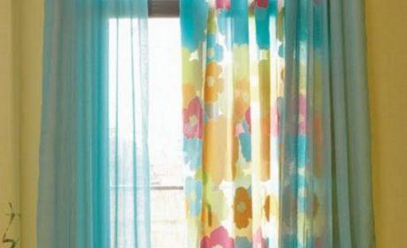 نکاتی برای انتخاب پرده اتاق کودک، دخترانه و پسرانه