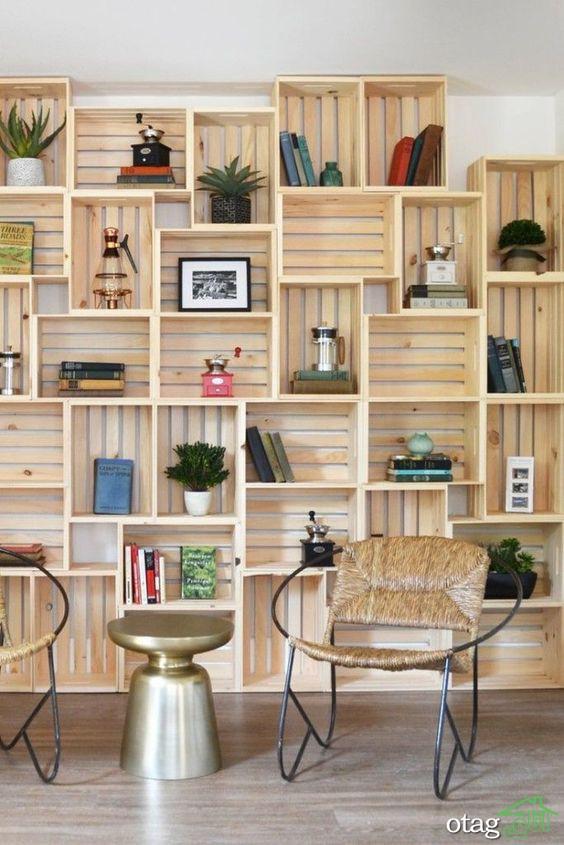 انواع کاربرد باکس تزیینی دیواری،اتاق نشیمن و اتاق خواب