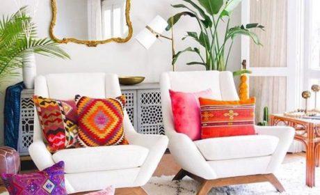 تکنیک های استفاده از رنگ های شاد در دکوراسیون خانه