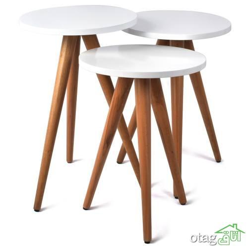 41 مدل بهترین میز جلو مبلی گرد مدرن [ با قیمت ارزان ] + خرید