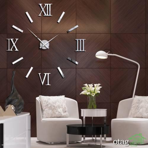 39 مدل ساعت دیواری گرد شیک برای خانه های مدرن و خاص