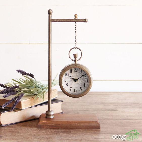 15 مدل ساعت ایستاده و کاربرد های آن در دکوراسیون داخلی