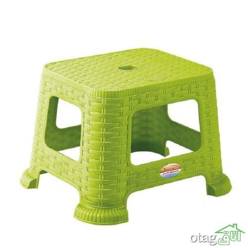 خرید 39 مدل چهارپایه پلاستیکی با رنگ بندی خاص و شیک