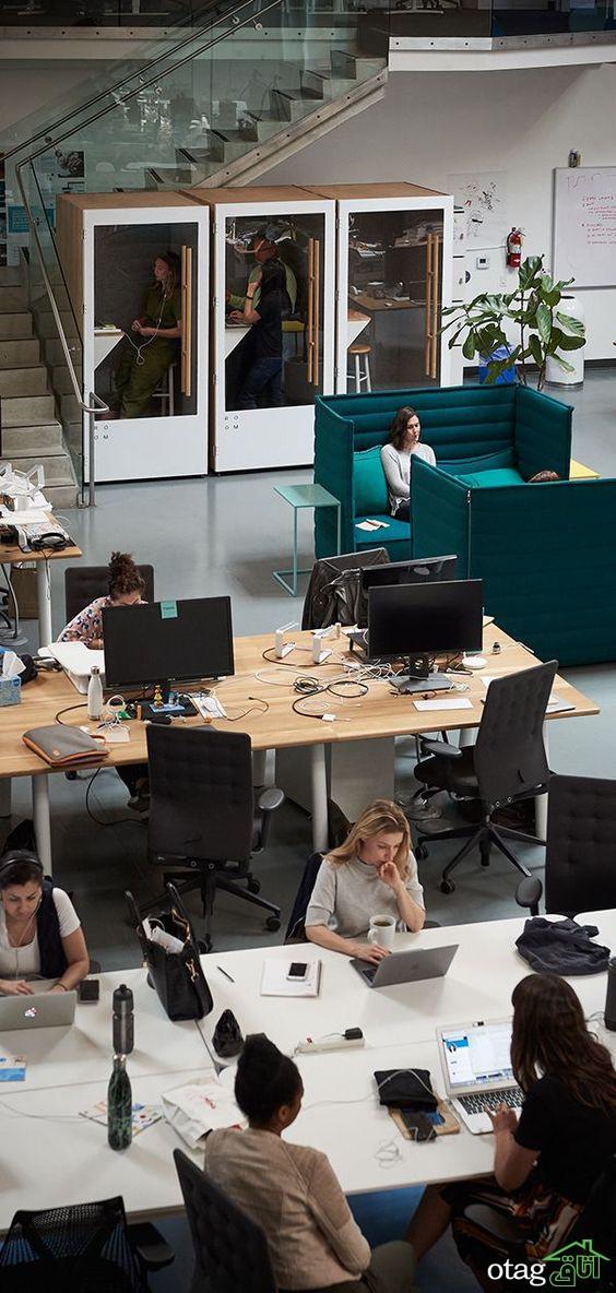 16 نکته و ایده دفتر کار شیک و مدرن، خانگی و اداری