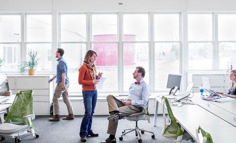 طراحی و سازماندهی فضاهای اداری و دفتر کار