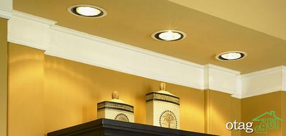 اهمیت نورپردازی داخلی ساختمان 6 نکته  کاربردی