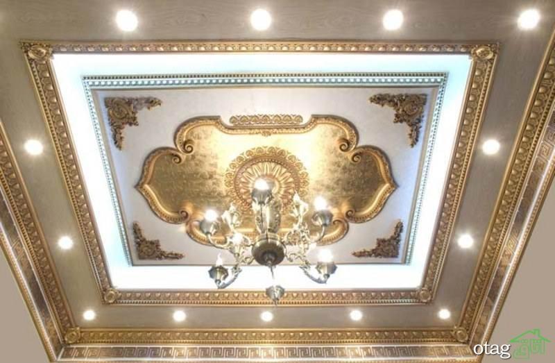 9 مدل گچ کاری سقف مدرن و کلاسیک