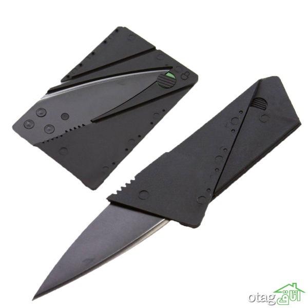 39  مدل چاقو سفری سبک، تاشو و ضامن دار + خرید