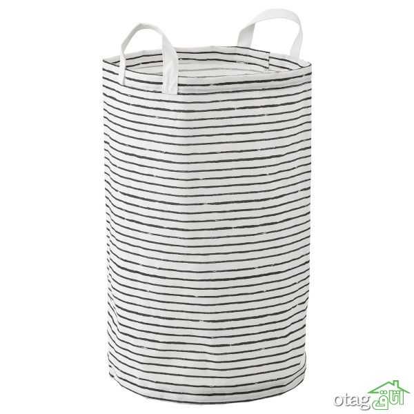 خرید اینترنتی 41 مدل سبد رخت حصیری و پلاستیکی  [ با قیمت ارزان ]