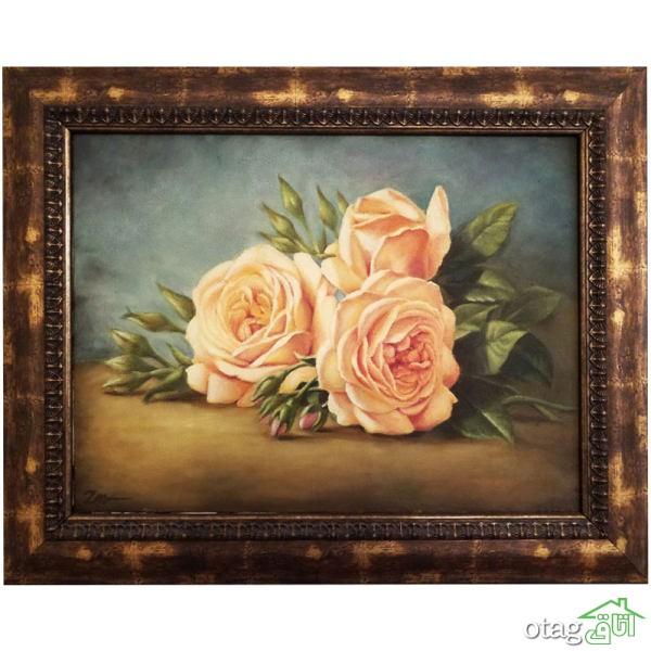 لیست قیمت 39  مدل تابلو طرح گل فانتزی و شیک با لینک خرید