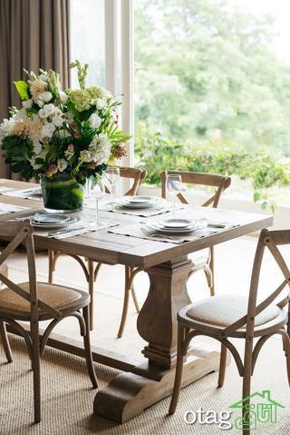 همه چیز درباره میز نهارخوری استیل، کلاسیک و سلطنتی