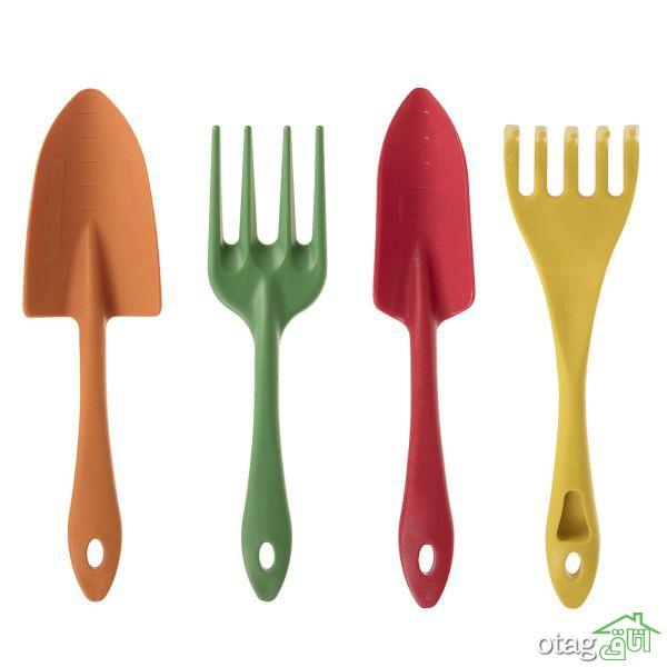 41 مدل بیلچهی باغبانی با قیمت مناسب، فلزی و پلاستیکی + خرید