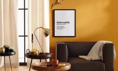 اهمیت تم رنگ اتاق نشیمن،تعادل میان روشن و تیره
