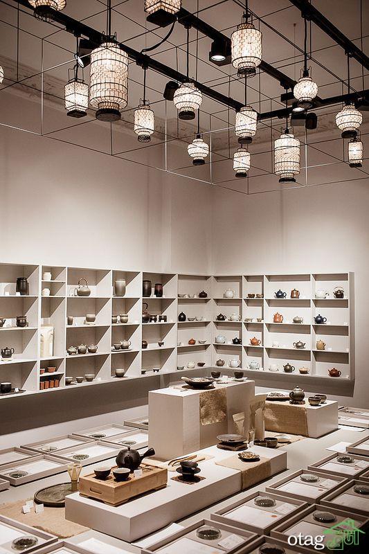 نورپردازی داخلی فروشگاه از گذشته تا کنون