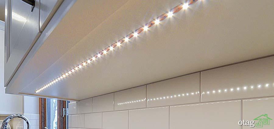 16 نمونه نورمخفی کابینت و ویژگیهای آن